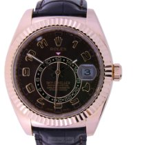 Rolex Sky-Dweller 326135 Sehr gut Roségold 42mm Automatik