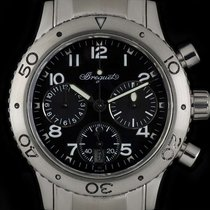 Breguet S/S Type XX Transatlantique Chrono Ladies B&P 4820ST/D...