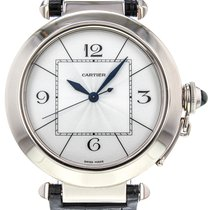 Cartier Pasha de Cartier 18K Solid White Gold Automatic