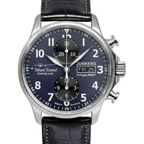 Junkers Mountain Wave Project Auto Chrono Valjoux 7750 Watch...