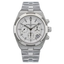 Vacheron Constantin Overseas Chronograph Steel 42.5mm Silver