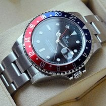 Rolex [near-NOS+Service+Warranty] GMT-Master II ,PEPSI, NO HOLE
