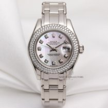 Rolex Factory Rolex Lady DateJust PearlMaster 80339 18k White...