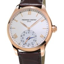 Frederique Constant Horological Smartwatch FC-285V5B4 Frederique Constant SMARtWATCH Rosa Argento new