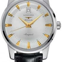 Longines Conquest Heritage Steel 40mm Silver