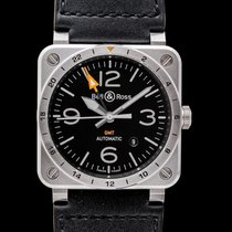 Bell & Ross Automatic Black 42mm new BR 03
