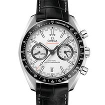 Omega Speedmaster Racing Steel White United States of America, Iowa