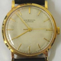 Cyma For J.W.Benson 9ct Gold Wrist Watch