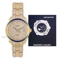 Rolex Pearlmaster Zuto zlato 39mm Rimski brojevi