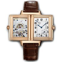 Jaeger-LeCoultre Reverso Grande Date pre-owned 29mm Rose gold