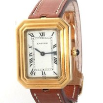 Cartier Tank (submodel) Yellow gold 30mm White
