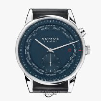 NOMOS Zürich Weltzeit new Automatic Watch with original box and original papers 807