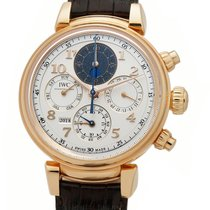 IWC Da Vinci Perpetual Calendar new Automatic Watch with original box and original papers IW392101