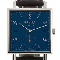 NOMOS Tetra Neomatik Steel 33mm Blue