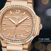 Patek Philippe Rose gold 35.2mm Automatic 7118/1200R-010 new