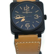 Bell & Ross BR 03 Steel 42mm Black Arabic numerals United States of America, New York, New York