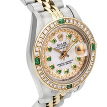 Rolex Lady-Datejust Gold/Steel 26mm No numerals