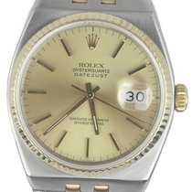 Rolex Datejust Oysterquartz Ouro/Aço 36mm Ouro