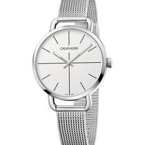 ck Calvin Klein Steel 36mm Quartz K7B23126 new