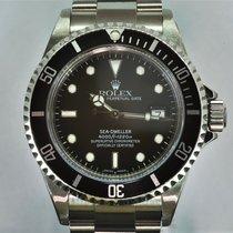勞力士 Sea-Dweller 4000 鋼 40mm 黑色 無數字