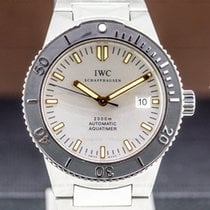 IWC Aquatimer Automatic 2000 Steel 42mm Silver United States of America, Massachusetts, Boston