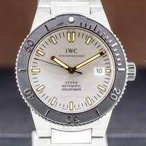 IWC Aquatimer Automatic 2000 pre-owned 42mm Silver Date Steel