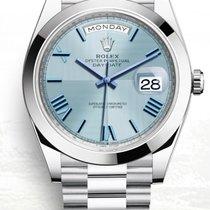 Rolex Day-Date 40 neu 2020 Automatik Uhr mit Original-Box und Original-Papieren 228206