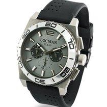 Locman Stealth 021200AK-AGKSIK Quarz Chronograph Men's Watch