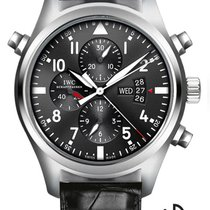 IWC Pilots Watch Double Chronograph