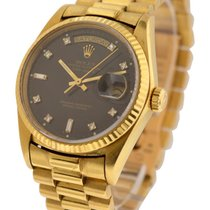 Rolex Used 18038_used_blk_dd 36mm Day Date Single Quick Ref...