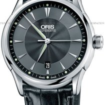 Oris Artelier Date Steel Black United States of America, New York, Brooklyn