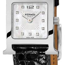 Hermès Steel 17.2mm Quartz Heure H new United States of America, New York, Airmont