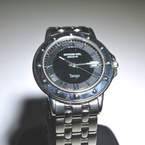 Raymond Weil Men's Tango 5560 with Grey/Black Dial, Stainless