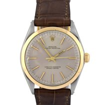 Rolex Oyster Perpetual  Steel with Grey Dial, 1002