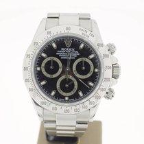 Rolex Daytona Steel BlackDial (BOXonly2001) 40mm MINT