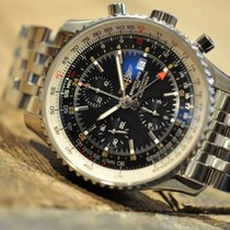 Breitling Navitimer World GMT with black dial