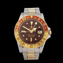 Rolex GMT-Master Root Beer Stainless Steel & 18k Yellow Gold...