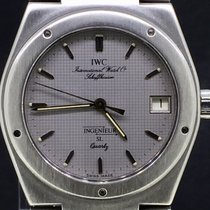 IWC Ingenieur SL Steel 34MM Quartz, Grey Dial, with box