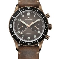Zenith Pilot Type 20 Annual Calendar Bronze 43mm Black