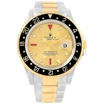 Rolex GMT-Master II Staal 40mm Champagne