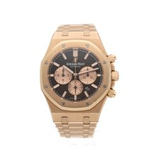 Audemars Piguet Royal Oak Chronograph brown dial - pink gold...