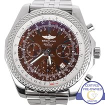 Breitling Bentley Chronograph Bronze Havana Brown 48mm A25362...