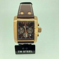 TW Steel Chronograph 38mm Quarz neu Braun
