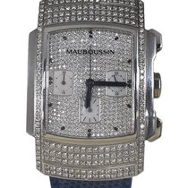 Mauboussin White gold 35mm 05391 pre-owned