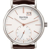 Bruno Söhnle Steel 44mm Quartz 17-13095-245 new