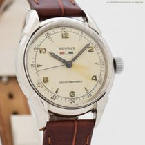 Benrus 32mm Manual winding 1950 pre-owned Silver