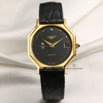 Longines Yellow gold 34mm Automatic new