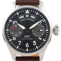 IWC Big Pilot Steel 46mm Black Arabic numerals United States of America, Florida, Boca Raton