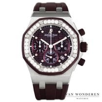 Audemars Piguet Royal Oak Offshore Lady Staal 37.5mm Paars Nederland, Purmerend