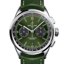 Breitling for Bentley Acciaio 42mm Verde